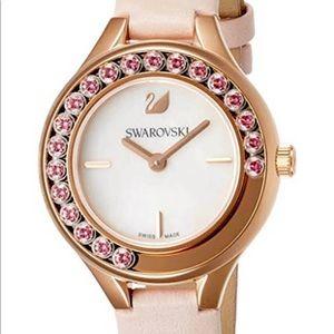 Like New Swarovski Pink Rose Gold Watch